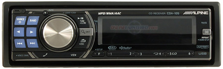 Alpine CDA-105 car audio/stereo receiver