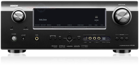 Denon AVR-890 High Definition 1080p HDMI Home Theater Receiver