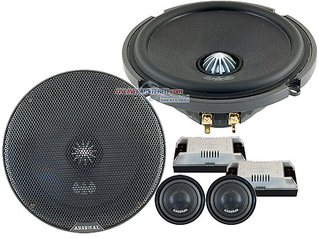 JVC Arsenal Component Speakers