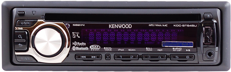 Kenwood Kdc Mp3 Receiver With Front Usb  U0026 Aux Inputs