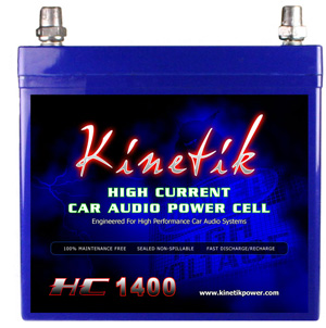 Kinetik High Current Car Audio Power Cell