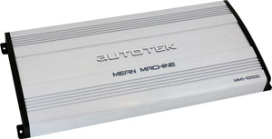 Autotek Mean Machine Amps