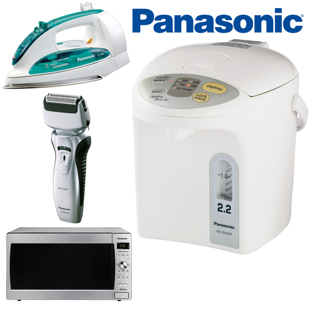 Panasonic Home Appliances now available OnlineCarStereo