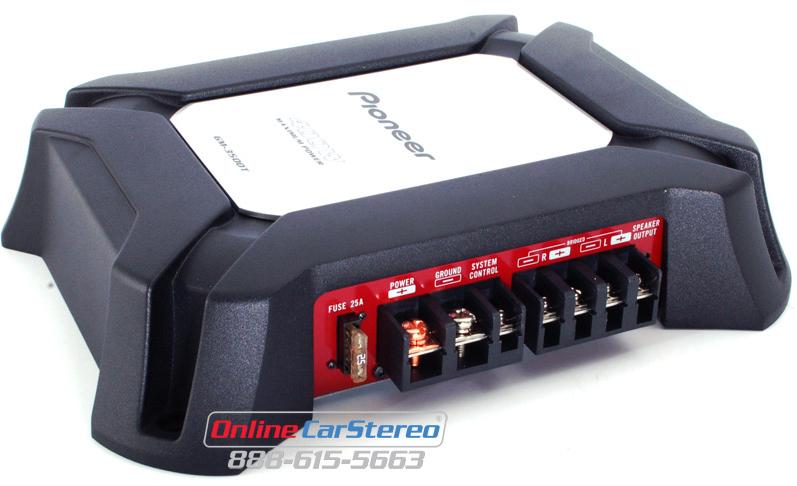 pioneer 750 watt amp. pioneer gm-3500t 2-channel 400w gm series car amplifier 750 watt amp s