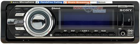Sony MEX-BT5700U Car audio stereo receiver