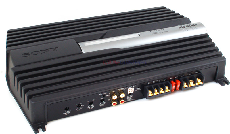 Sony XM-GTR2202 Car Stereo Amplifier, 1400 Watts 2-Channel