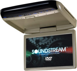 "Soundstream VCM-121DBG 12.1"" High Resolution TFT-LCD Wide Screen Monitor & DVD Player Combo"