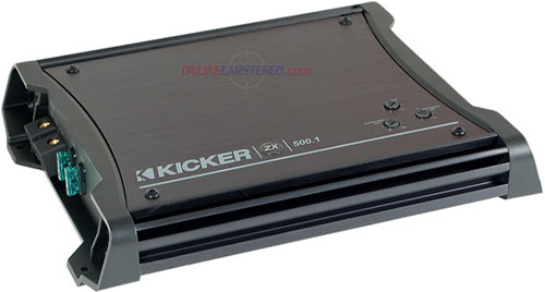 Kicker ZX Series Car Amplifier 2